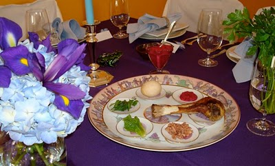 The Passover Seder Table - Taste With The Eyes