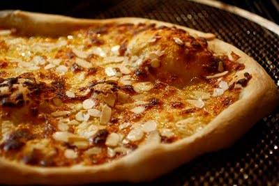 Unique Almond Pizza