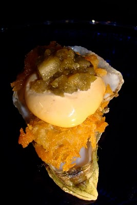 Fried Oysters, Chipotle Mayonnaise, Salsa Fresca