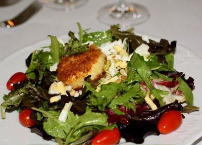 Kristy's Chèvre Chaud Salad