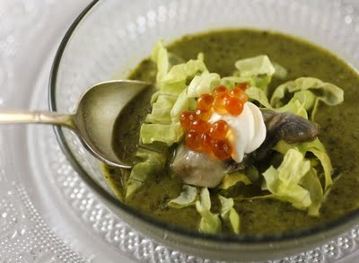 Oysters Rockefeller Soup