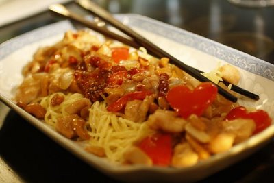 Cashew Chicken for Lovers