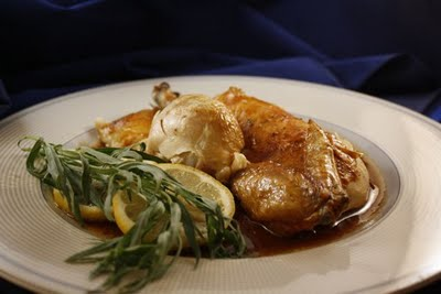 Thank You Julia: Roast Chicken with a Natural Sauce