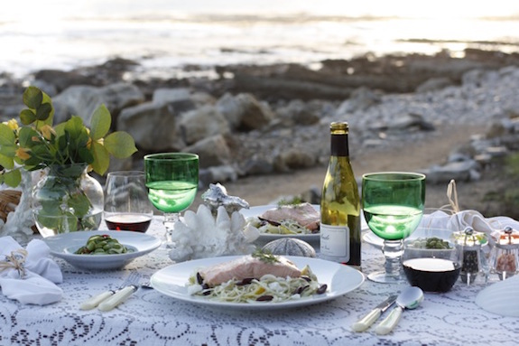 Elegant Picnic at the Beach