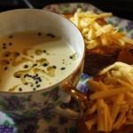 Elegant Leek & Celeriac Soup