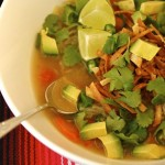 Baja-Style Tortilla Vegetable Soup