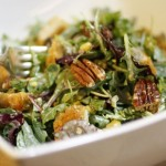 """Healthy Southern """"Fried Chicken"""" Salad"""