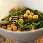 Broccolini, Chickpeas, and Harissa