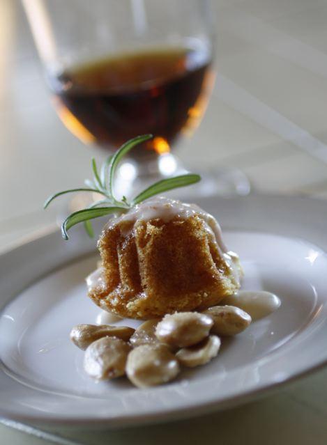 Oloroso Sherry/ Mini Bundt Cake/ Marcona Almonds - Taste With The Eyes ...