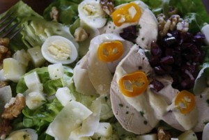 Good Idea: Aji de Gallina Salad