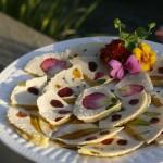 quesadillas florales