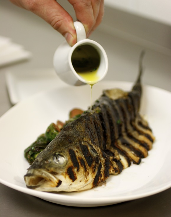 Best branzino this side of italy taste with the eyes for What is branzino fish