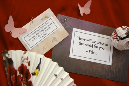 there will be peace in the world for you