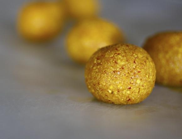 saffron matzoh balls