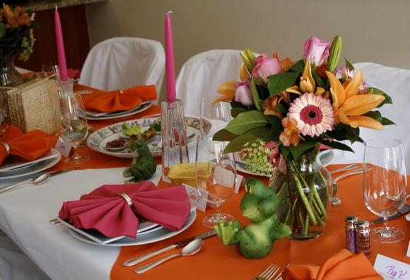 passover, passover table, seder table, seder, table setting