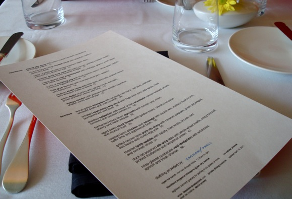 blackbird menu