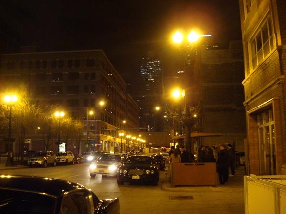 dining in chicago, randolph street