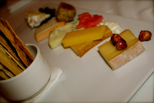 cheese platter, chicago's blackbird