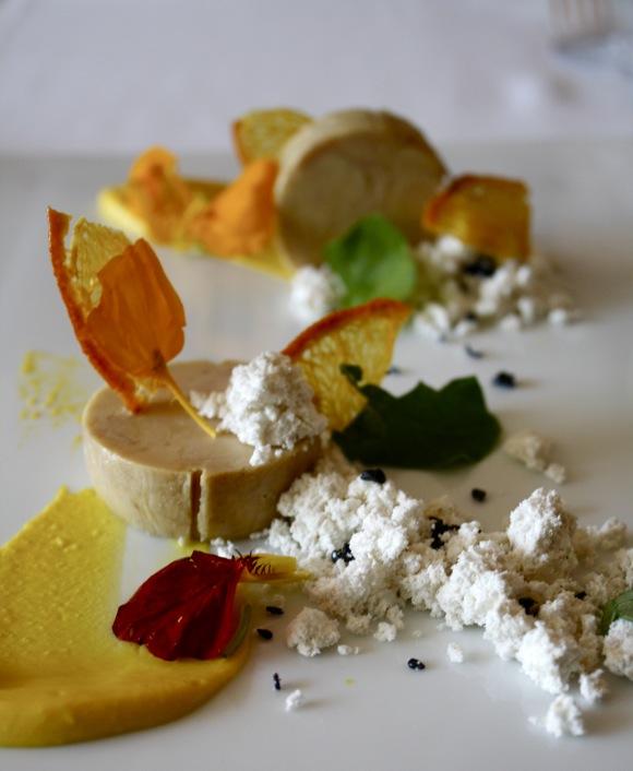 chicago's blackbird restaurant, foie gras torchon