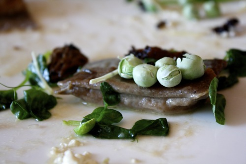 BLACK BEAN AGNOLLOTI, BLACKBIRD RESTAURANT