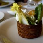 salad of endives, blackbird restaurant