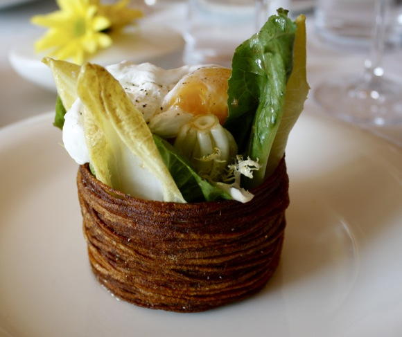 BLACKBIRD RESTAURANT, SALAD OF ENDVIES