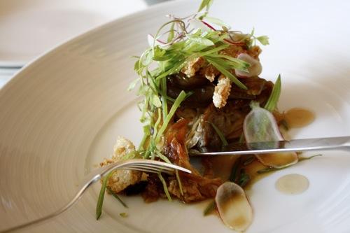chicago, blackbird restaurant, pork rib chop