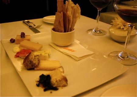 blackbird cheese platter
