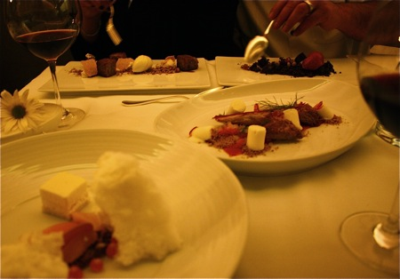 dessert at blackbird