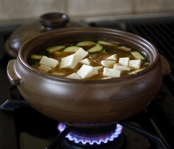 doenjang chigae, 된장 찌개