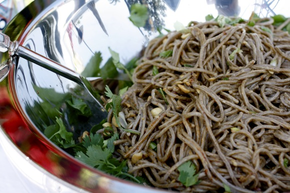 buckwheat soba noodle salad