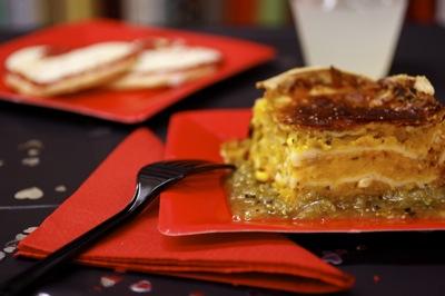 butternut squash lasagna, lasagna