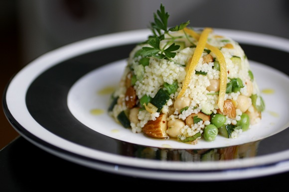 couscous salad timbale