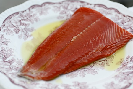 copper river sockeye, copper river salmon, pink peppercorns
