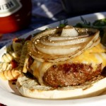 cheeseburger-grilled onion