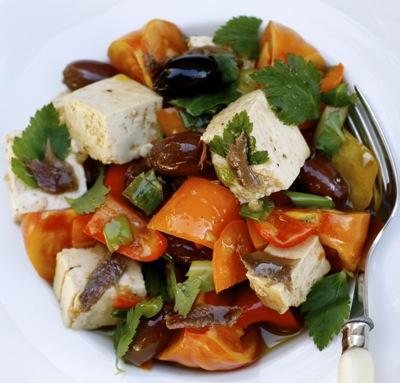 tofu salad a la provencal