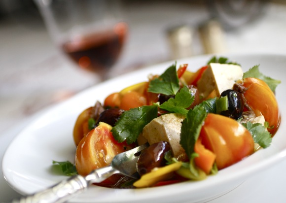 WANTED: Tofu Salad à la Provençal - Taste With The Eyes Taste With ...