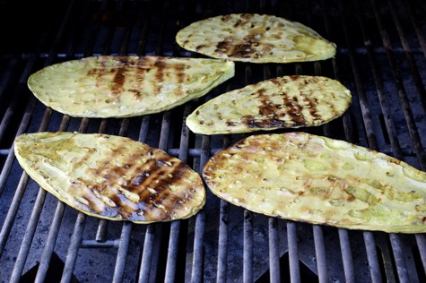 grilled nopalitos