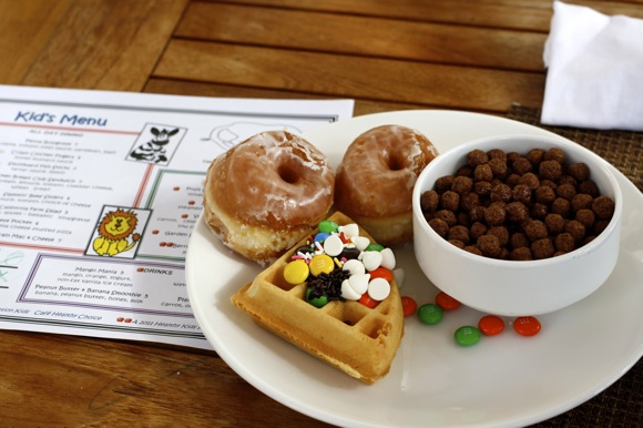waffle, cereal, donut