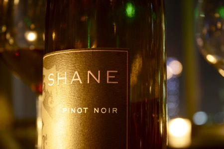 Shane THE CHARM, 2009 Pinot Noir