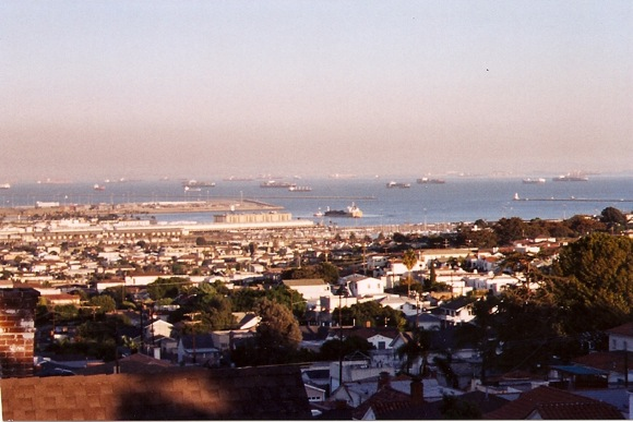 Port of LA on 9.12.2001