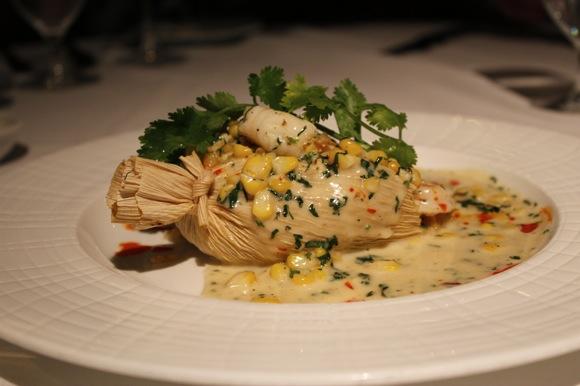 shrimp corn tamale, mesa grill