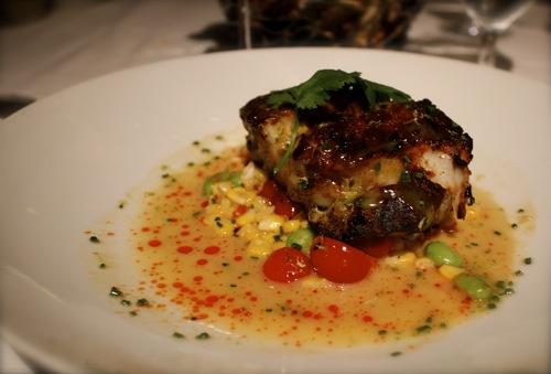 yucatan grouper, mesa grill