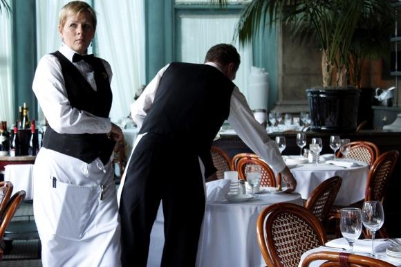 mon ami gabi, professional waiter