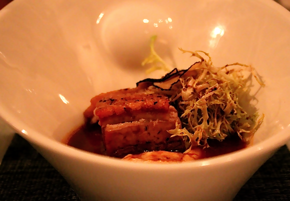 Berkshire Pork Belly, Andre's Las Vegas