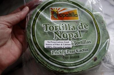 tortilla de nopal