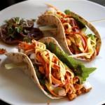 korean veggie tacos