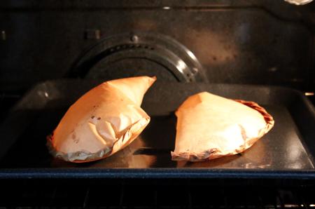 roast matsutake