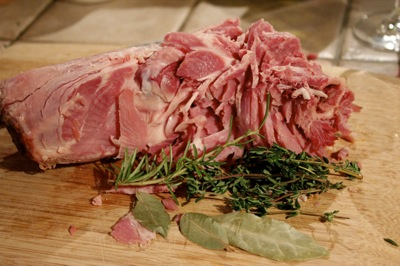 meaty ham bone