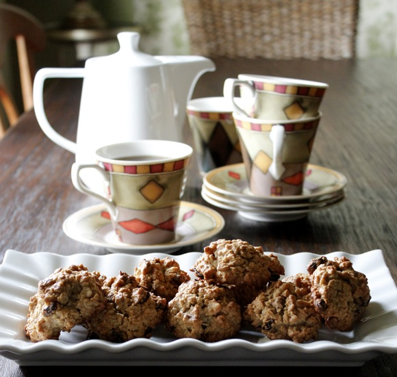 heart-healthy oatmeal cookies